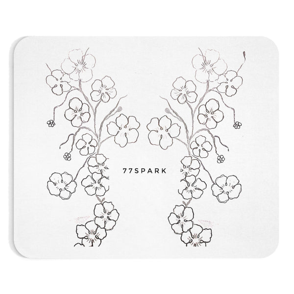 """ Cherry Blossom Reflections "" Mousepad"