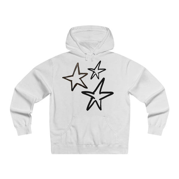 """Reach For The Stars"" Lightweight Pullover Hooded Sweatshirt"