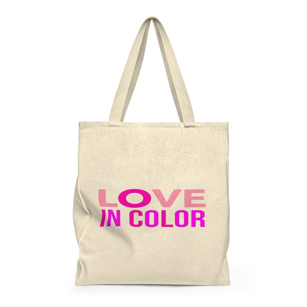 """ Love in Color"" Shoulder Tote Bag - Roomy"