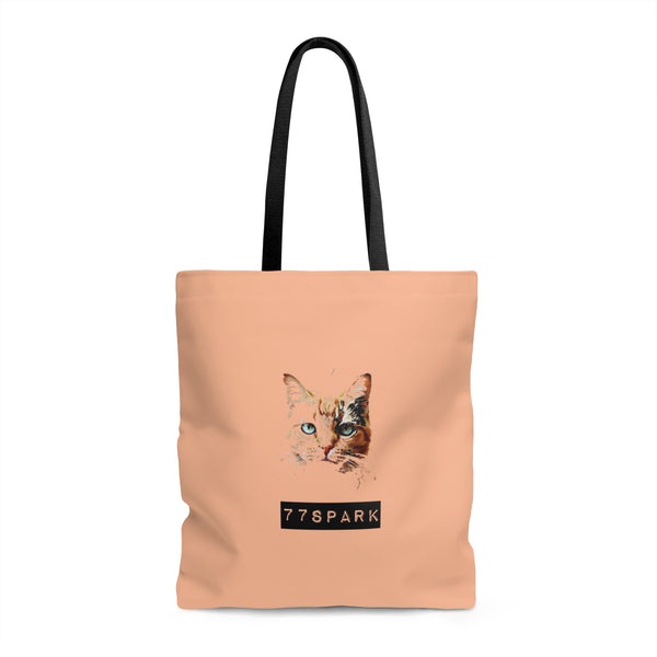 """ Kitty Kat""  Tote Bag"