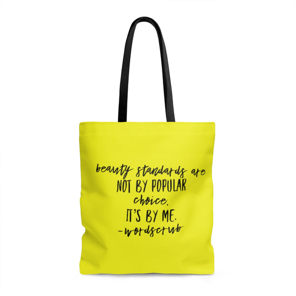 """ Beauty Standards"" Tote Bag"