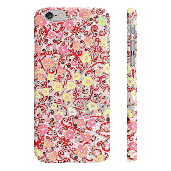 """ Garden of Love"" Slim Phone Cases"