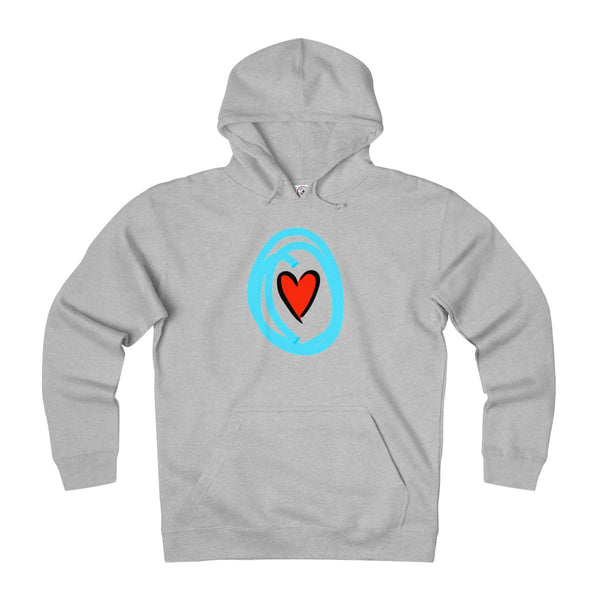 """ Crazy in Love"" Adult Unisex Heavyweight Fleece Hoodie"