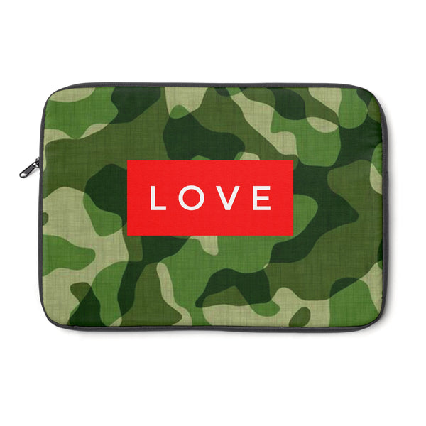 """ Camo Love""!Laptop Sleeve"