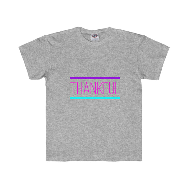 """ Thankful"" Youth Regular Fit Tee"