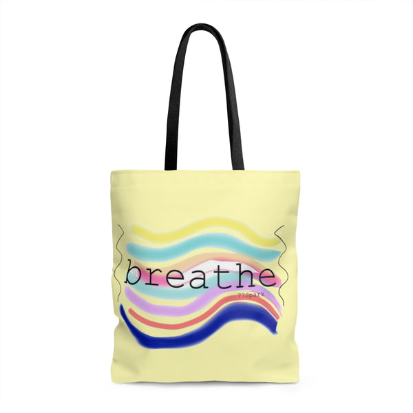 """ Breathe"" Tote Bag"