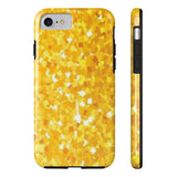""" Gold Sparkles"" Phone cases"