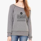 """ Est. Original"" Women's Sponge Fleece Wide Neck Sweatshirt"