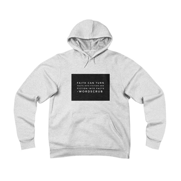 Pullover hoodie with quote