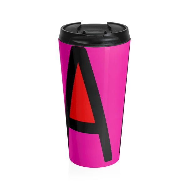 """Fab"" Stainless Steel Travel Mug"