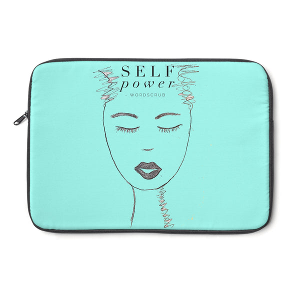 """ Self Power"" Laptop Sleeve"