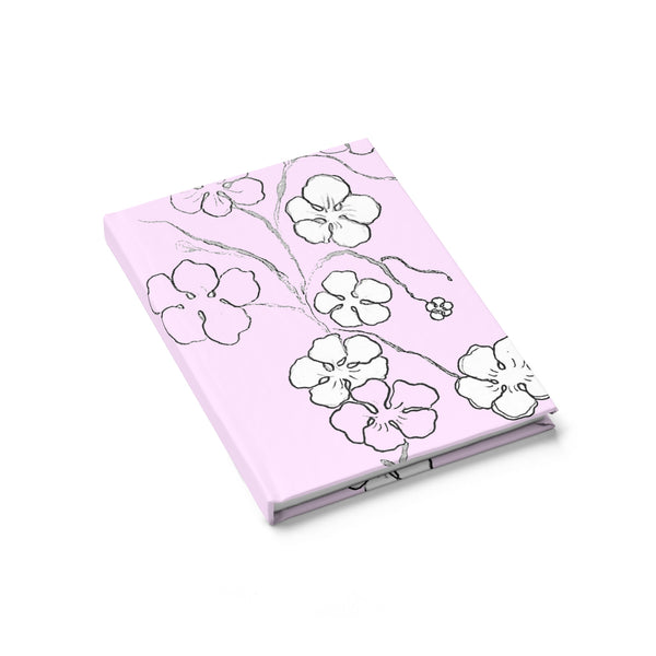 """ Cherry Blossom Bliss"" Journal - Ruled Line"