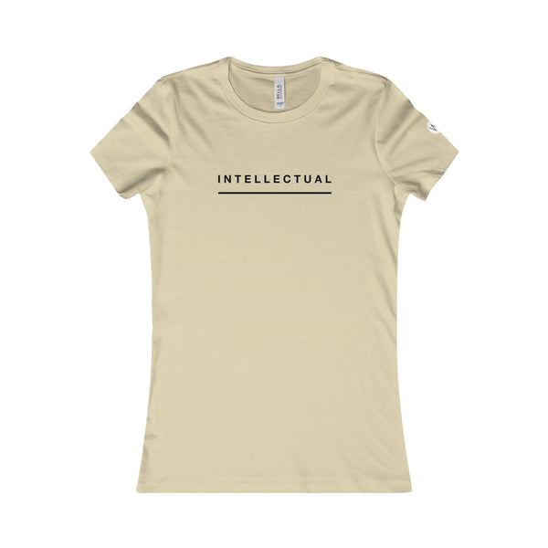 """ Intellectual"" Women's Favorite Tee"