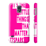 """ It's The Little things that Matter"" Phone cases"