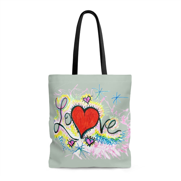 """ Power of Love"" Tote Bag"
