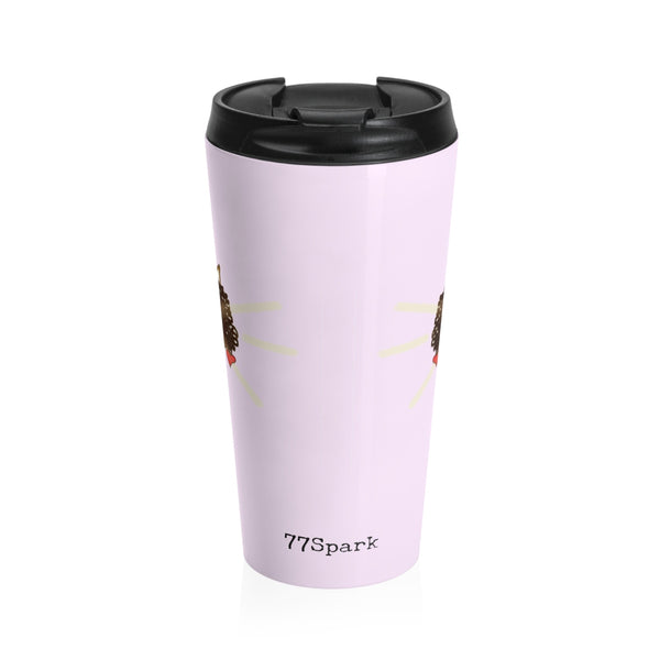 """ Queen"" Stainless Steel Travel Mug"