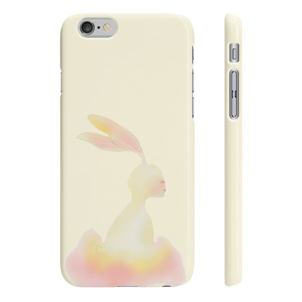 """ Bunny Ballarina"" Slim Phone Cases"