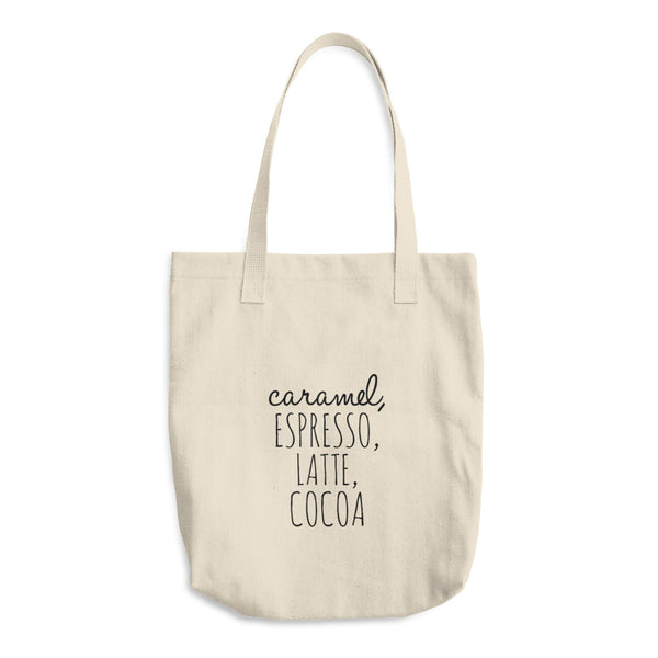 """ Coffee"" Cotton Tote Bag"