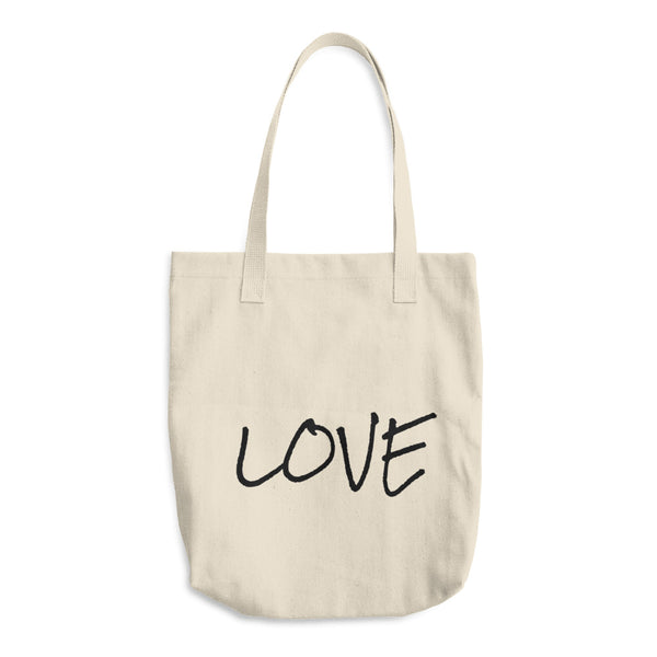 """ Love"" Cotton Tote Bag"