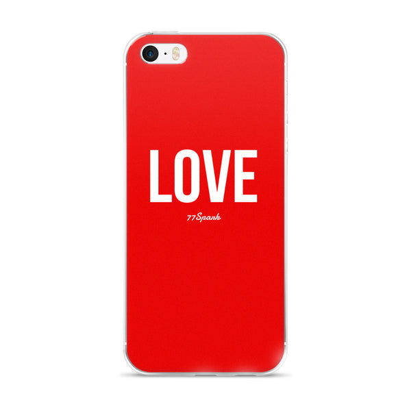""" Love"" iPhone 5/5s/Se, 6/6s, 6/6s Plus Case"