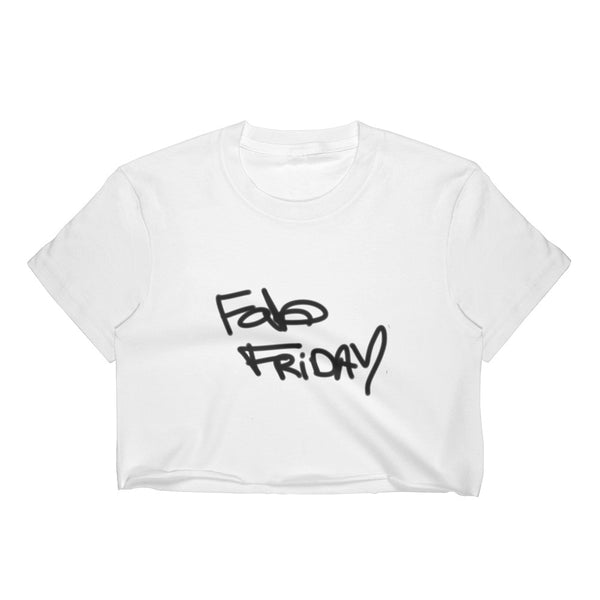 """ Fab Friday"" Women's Crop Top"