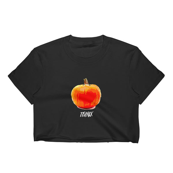""" Pumpkin"" Women's Crop Top"