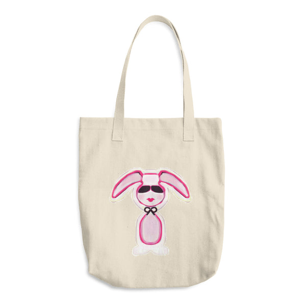 """ Bunny"" Cotton Tote Bag"