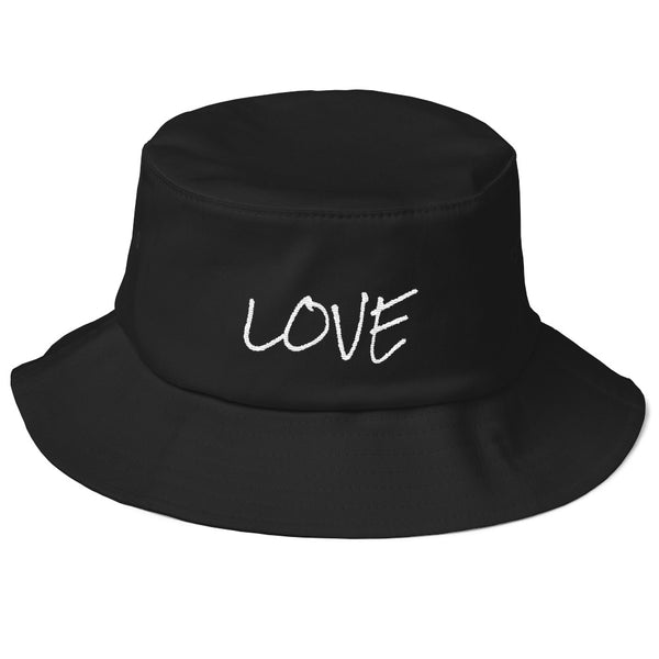 """ Love"" Old School Bucket Hat"