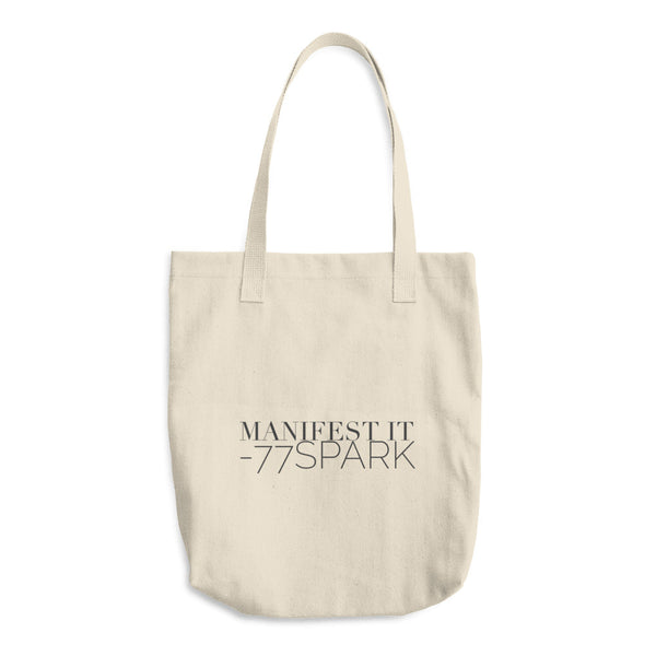 """ Manifest it"" Cotton Tote Bag"