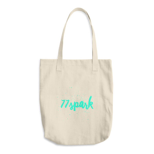 """ 77 Spark "" Cotton Tote Bag"