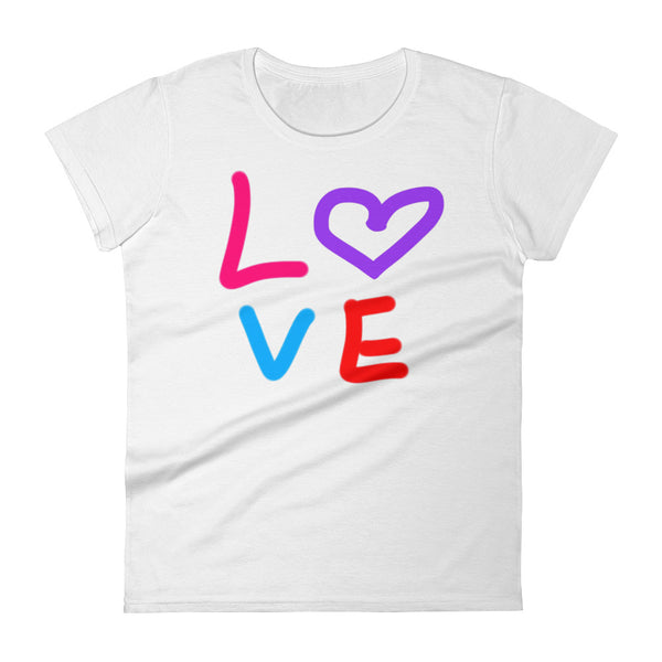 """ Love"" Women's short sleeve t-shirt"