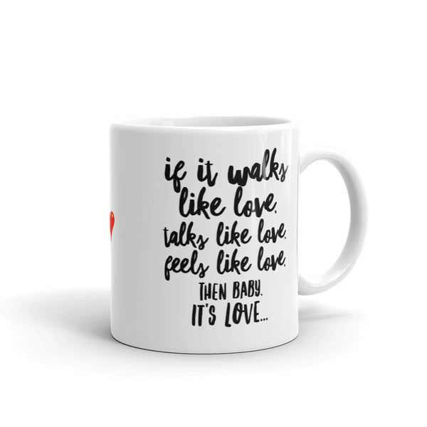 """ It's Love"" Mug made in the USA"