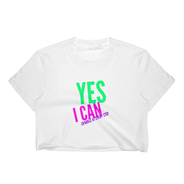 """ Yes I Can"" tshirt"