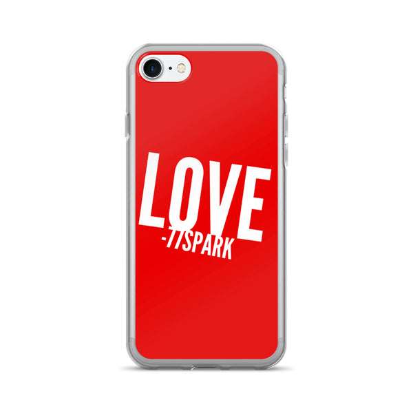 """ Love"" iPhone 7/7 Plus Case"