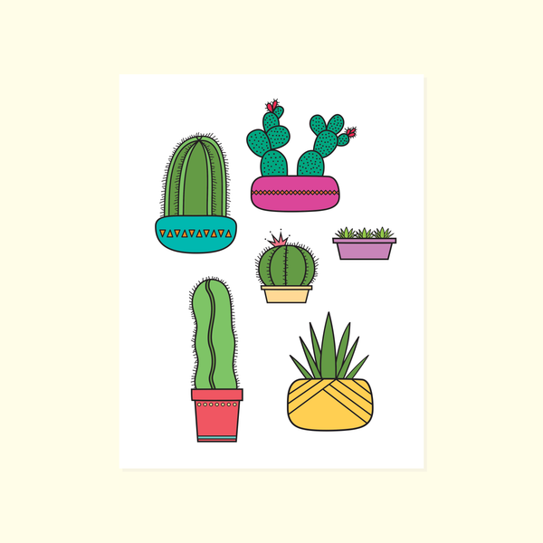 Succulents + Cacti Card