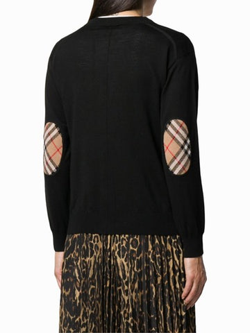 BURBERRY knit black