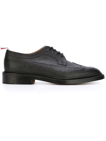 THOM BROWNE Classic Longwing Brogue with Leather Sole
