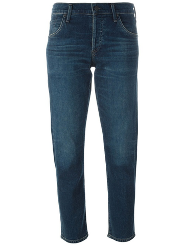 CITIZENS OF HUMANITY Elsa mid-rise slim fit cropped jeans