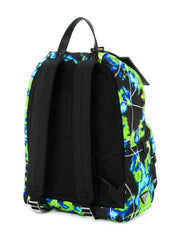 Prada digital print backpack