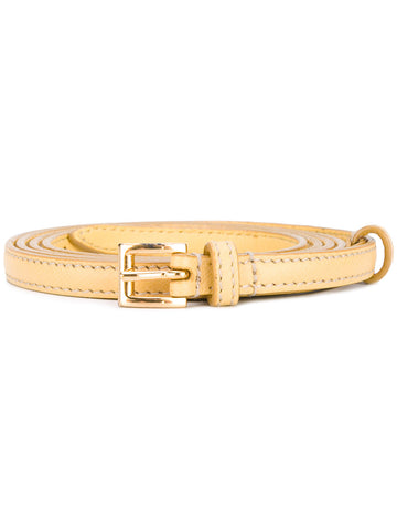 Prada belt sand 1cm saffiano color