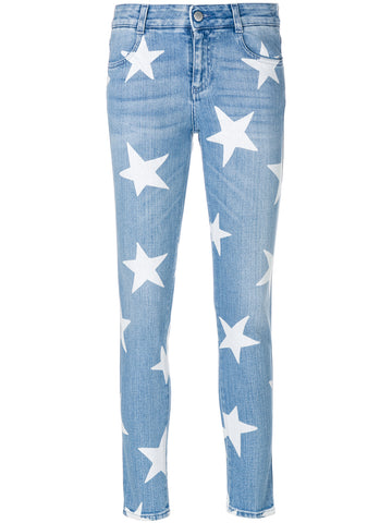 STELLA McCARTNEY Ankle Glazer Star jeans