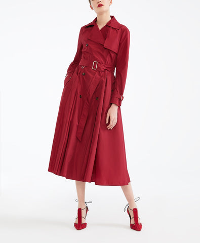 MAX MARA DRESS RED