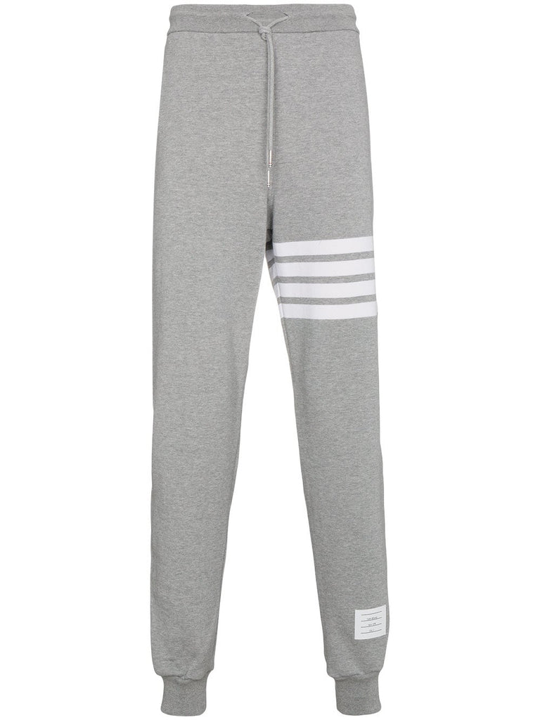 THOM BROWNE Engineered 4-Bar Jersey Sweatpant