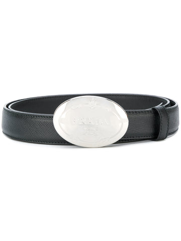 PRADA Oval buckle belt