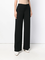 PAROSH flared tailored trousers