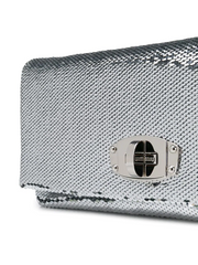 MIU MIU logo metallic shoulder bag