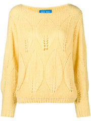 M.I.H. Lacey leaf knit sweater