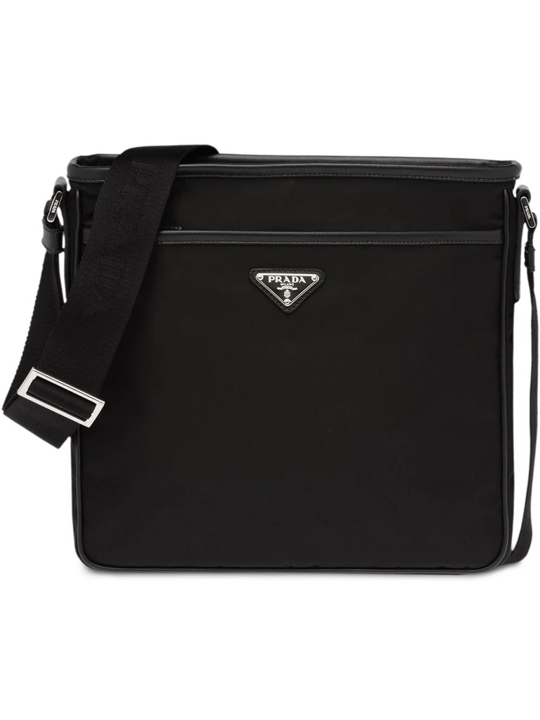 PRADA nylon shoulder bag