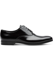 PRADA Brushed leather Oxford shoes