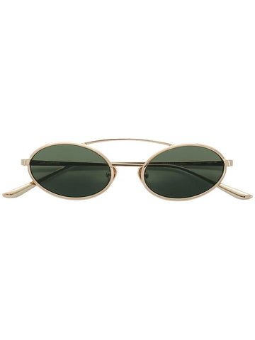 SELF-PORTRAIT jamie Gold frame sunglasses Gold